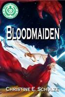 "New cover art for ""Bloodmaiden: Second Edition."" Release date March 14th, 2014."
