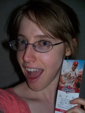 Oh my goodness! My first Cardinals ticket! Frame it!!