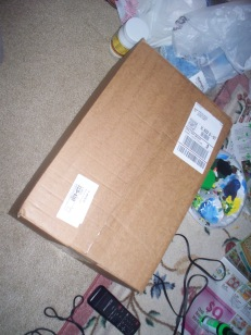 The package has arrived!!