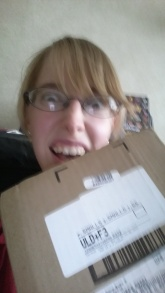 A box!! A box has arrived!!