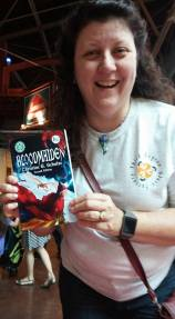 Lendy buys the first book of the day!! Bloodmaiden was hella popular and actually sold out.
